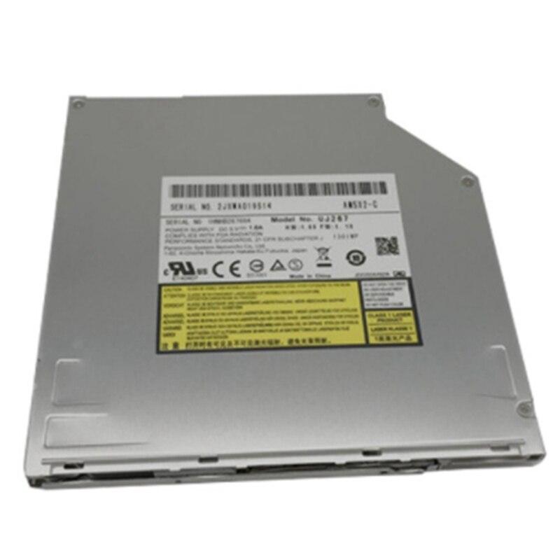 6X BD-R BD-RE 100GB Blu-Ray Burner, for Panasonic UJ267 UJ-267, 8X DVD+-R Writer CD-RW Laptop Internal 9.5mm SATA
