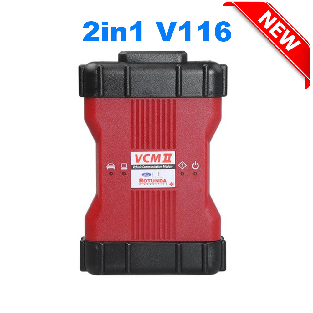 New VCM 2 IDS 2 In 1 V116 V114 For VCM II Diagnostic Tool For Ford VCM2 IDS V116 For Mazda VCM2 IDS V116 Installation No VMware