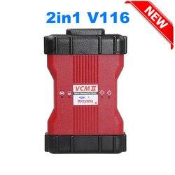 New VCM 2 IDS 2 in 1 V116 V114 For VCM II Diagnostic Tool for Ford VCM2 IDS V116 for Mazda VCM2 IDS V116 Installation No VMware