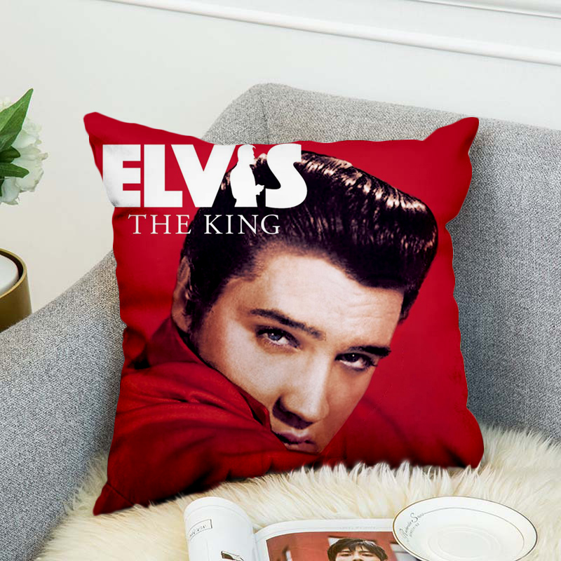 Elvis Presley Pillow Case Polyester Decorative Pillowcases Throw Pillow Cover Style-1