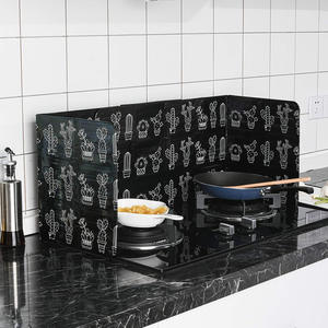 Panels Splatter Splash Guard Frying Folding Oil Splatter Shield Splash Proof Proof