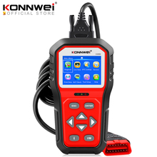 KONNWEI KW860 OBD2 자동차 스캐너 Obd 2 자동차 진단 도구 전체 Obd2 Funtion 자동차 도구 엔진 코드 리더 무료 업데이트