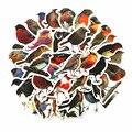 40 шт./кор. Робин птиц декоративные наклейки самоклеящиеся Стикеры для художественного оформления ногтей, ручная работа дневник канцелярски...