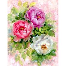 Kwiat róży pełne kwadratowe okrągłe diamenciki 3D DIY zestaw do malowania diamentowego mozaika z haftu diamentowego ściegu dla dziecka plakat na płótnie tanie tanio Malarstwo era Obrazy CN (pochodzenie) Kolorowe pudełko Pojedyncze Żywica Pełna Floral Zwinięte 1-30 Okrągły Europejski i amerykański styl