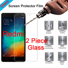 2 Piece 9H Clear Tempered Glass Screen Protector for Redmi S2 Go 3S 3X 3 2 Film HD Protective Glass for Xiaomi Redmi 4X 4A 4 Pro цена 2017