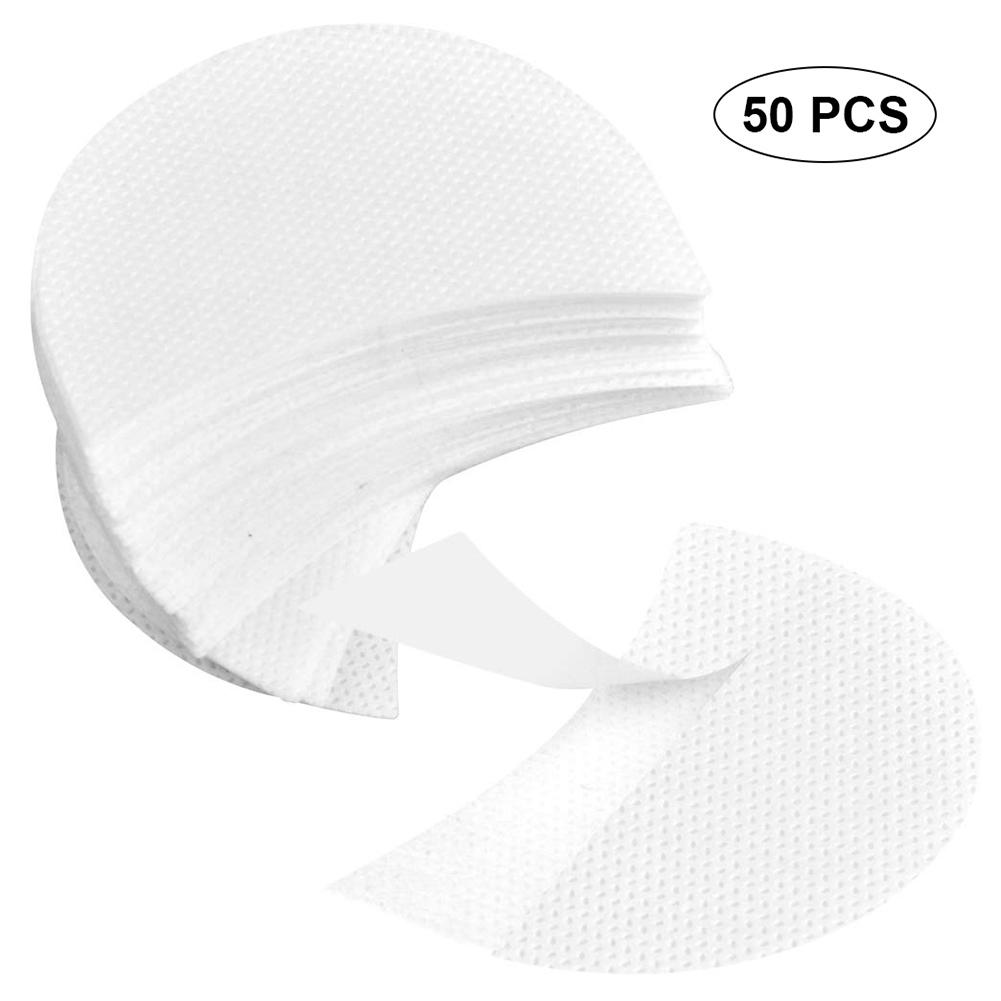50pairs/pack Under Gel Eye Pads Lint Free Eye Patches For Eyelash Extension False Eyelashes Grafting Pad Eye Shadow Eyepads