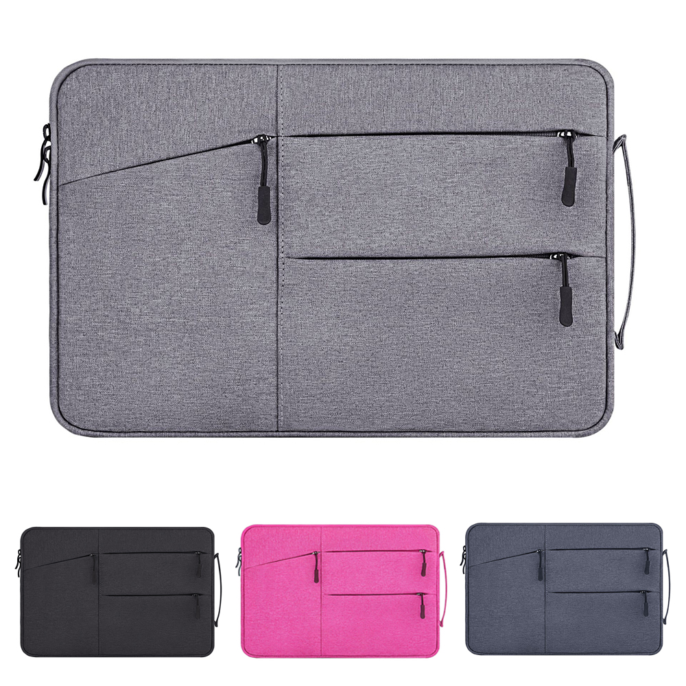 Upgraded handbag for Macbook Air Retina Pro 12 13 <font><b>15</b></font> <font><b>Laptop</b></font> Bag for Lenovo HP Unisex <font><b>Sleeve</b></font> for Xiaomi Nylon Pouch Notebook Case image