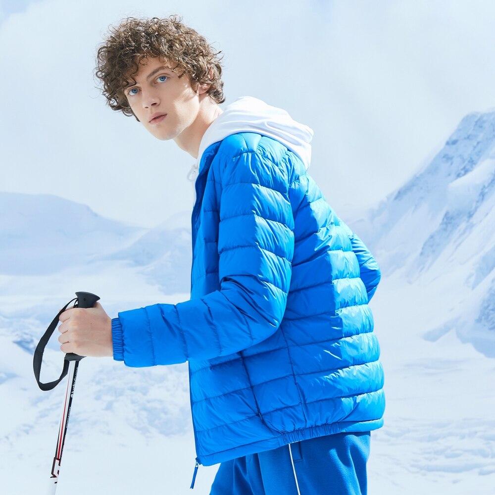 Metersbonwe 2019 Donsjack Mannen Winter Draagbaarheid Warm 90% Witte Eendendons Hooded Man Jas Jaqueta Masculino Chaqueta Hombre - 6