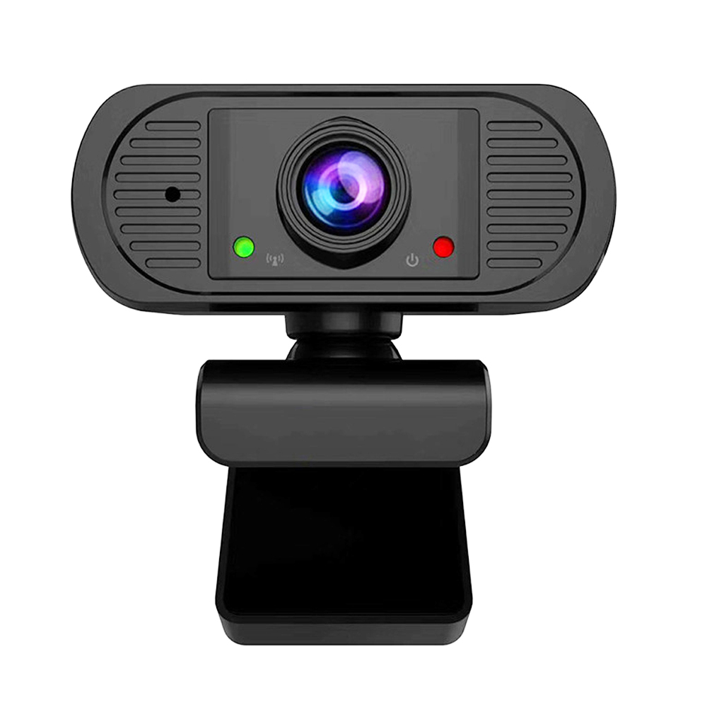 USB Computer Webcam for Video Calling PC Webcam Webcam Streaming Computer Web Camera with Support 3D Denoising and Automatic Gain Webcam with Microphone Online Classes and Video Conference