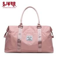 S.IKRR Oxford Wasserdichte Frauen Reisetaschen Hand Gepäck Big Outdoor Sporttasche Business Große Kapazität Trocken Nass Wochenende Duffle Tasche
