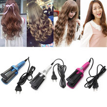 Rambut Atlet Curling Putra Mini 3 Barel Curling Besi Datar Keramik Rambut Alat Profesional Crimper Penjepit Curling Wand Salon Styling Tools Dropship(China)