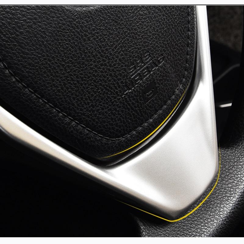 For new  Toyota RAV4 teering wheel sequins  decoration for 13-19 RAV4 Special ABS sequins Paste