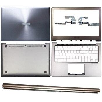 NEW Laptop LCD Back Cover/Front Bezel/Hinges/Hinges Cover/Palmrest/Bottom Case For ASUS UX303L UX303 UX303LA UX303LN Gold No Tou new for msi ge73 ge73vr 7rf 006cn laptop lcd back cover front bezel hinges hinges cover palmrest bottom case 3077c1a213hg017
