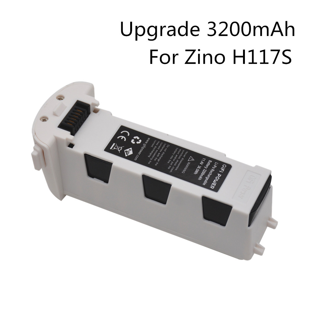 Upgrade 11.4V 3200mAh For Hubsan H117S Zino RC Drone Quadcopter Spare Parts Intelligent Flight Battery For RC FPV Racing Drone