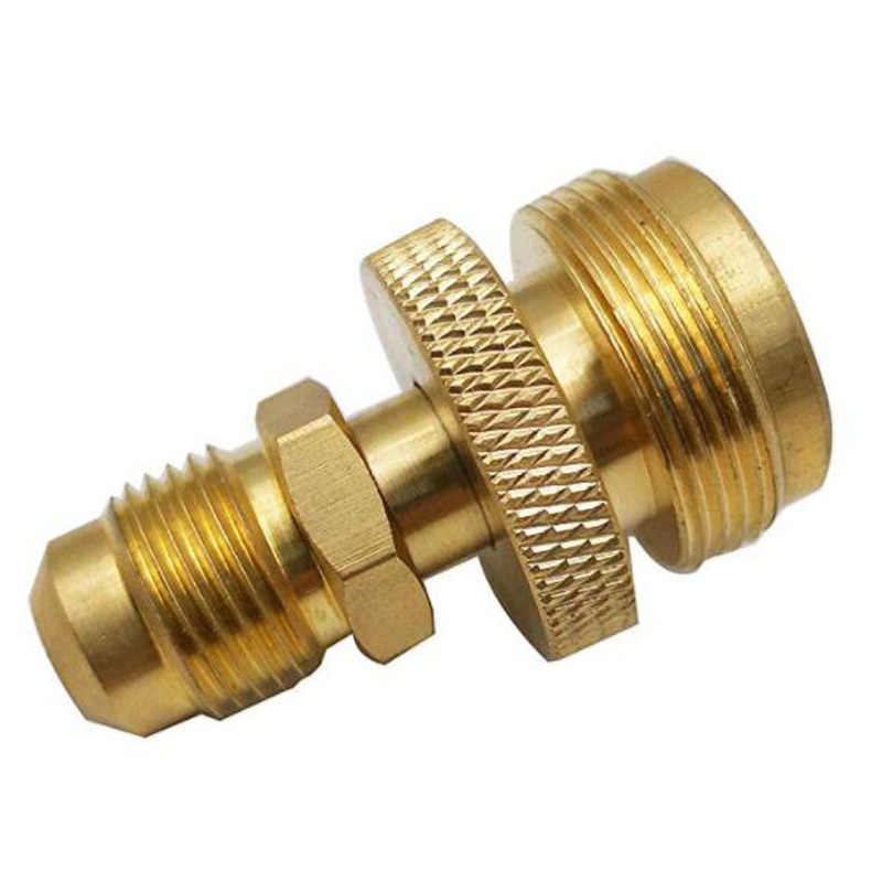 3/8Male Thread Connector Portable Camping Grill Stove Parts 1lb Propane Tank Cansiter Regulator Adapter Connection