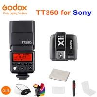 Godox Mini Speedlite TT350S Camera Flash TTL HSS GN36 + X1T S Transmitter for Sony Mirrorless DSLR Camera A7 A6000 A6500 A7RII