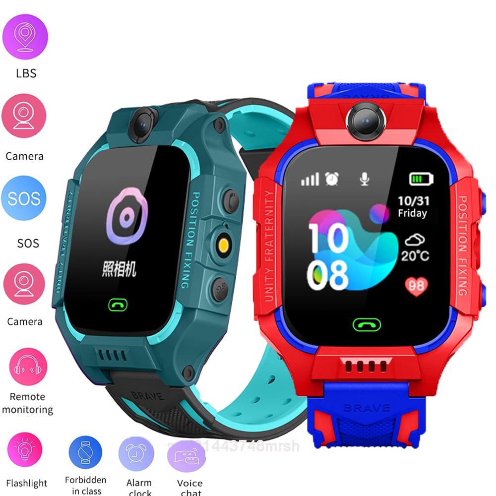 Montre connectée pour enfants, étanche IP67, pour garçons et filles, avec carte SIM et Photo, appel SOS, cadeau pour IOS et Android, nouveau 1