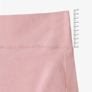 Image 5 - 5 sztuk/zestaw Plus rozmiar majtek bawełniane majtki dla kobiet bielizna wysokiej talii kalesony antybakteryjne bielizna kobiet bliscy M ~ 4XL
