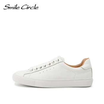 Smile Circle Sneakers Women Flats Shoes Spring Fashion Casual Comfortable Ladies big size 36-42 - discount item  50% OFF Women's Shoes