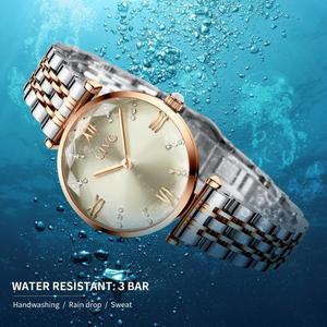 Image 5 - CIVO 2020 mode luxe dames montres bracelets haut de gamme en or Rose Bracelet en acier étanche femmes Bracelet montre Zegarek Damski