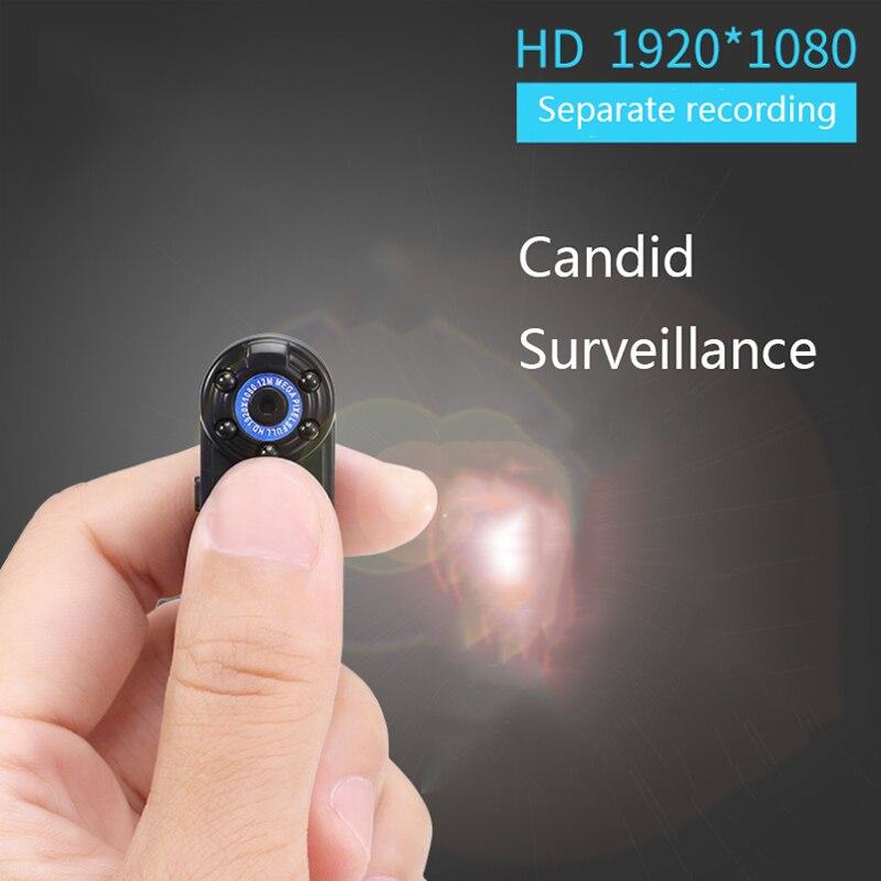 1080P мини-камера беспроводная видеокамера Wi-Fi инфракрасное ночное видение микро камера Обнаружение движения DV портативная Бесшумная съемка