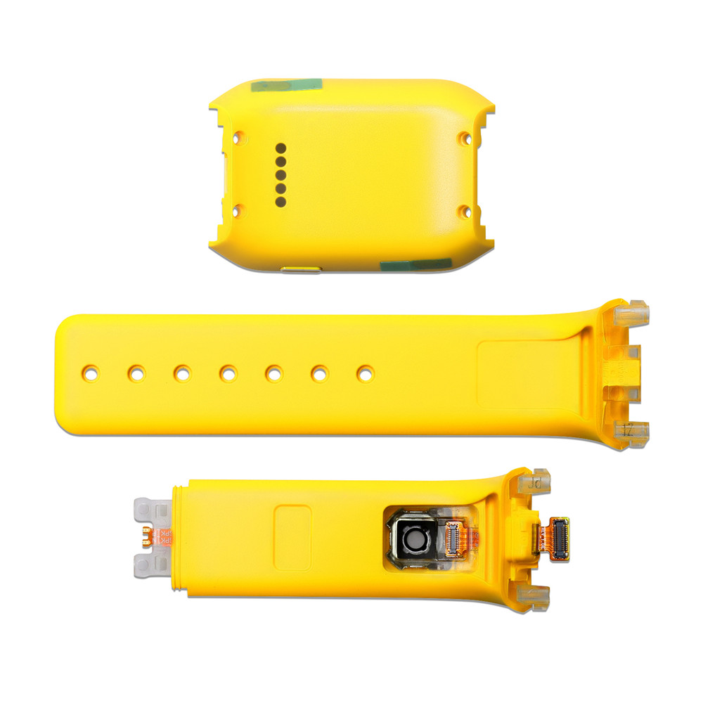 Watch Back Cover <font><b>Case</b></font> Watchband for Samsung Gear SM-<font><b>V700</b></font> Watch Replacement Accessories Rear Housing <font><b>Case</b></font> Watch Strap Bracelet image