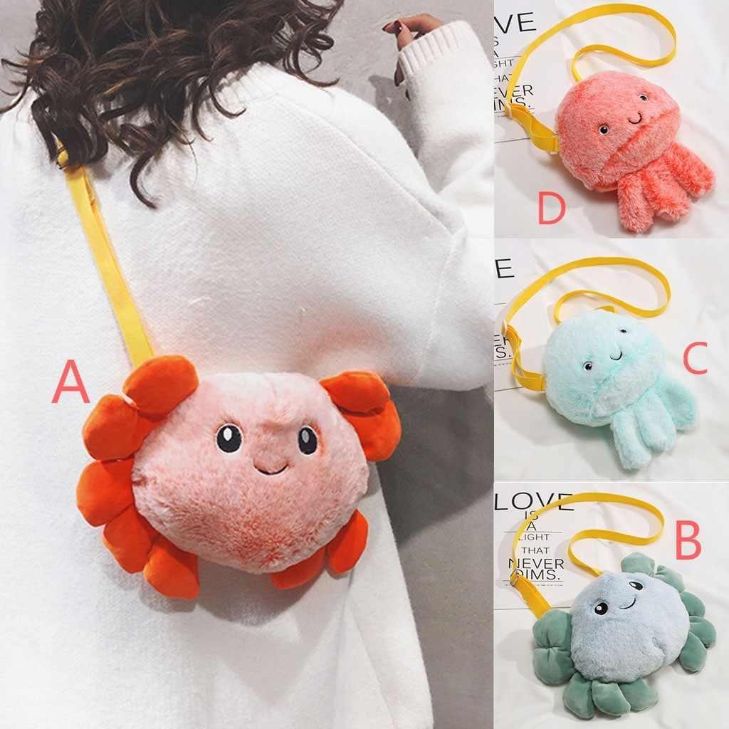 Модные женские милые маленькие детские бумажник кошелек для монет сумка кактус сумки на ремне
