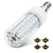 WENNI LED Lamp 20W E27 220V Bulb E14 Candle 5W Lampara 10W Corn 15W Light For Home Lighting No Flicker SMD2835