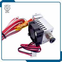 E3DV6 ad alta temperatura Assemblato singolo estrusore hotend kit Filamento 1.75 MILLIMETRI 0.4 MILLIMETRI 3D Parte Della Stampante