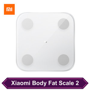 Xiaomi Smart Body Fat 2 поколения весы для ванной Bluetooth 5,0 балансировочные данные BMI Muscle Rate Health весы дропшиппинг