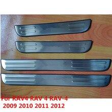 Аксессуары для RAV4 для Toyota Previa RAV 4 RAV-4 2009 2010 2011 2012 2013 порога Накладка протектор удар шаг накладка