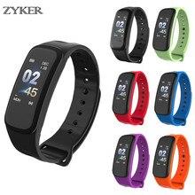 ZYKER Bluetooth Smart Watch Blood Pressure Fitness Tracker Heart Rate Monitor Bracelet Men and Woman Watchsmart Band