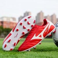 الرجال في الأماكن المغلقة العشب أحذية كرة القدم الأشرطة سوبيرفلي تنفس رخيصة الأصلي TF كرة قدم للأطفال كرة الصالات أحذية رياضية الرجال المرابط-في أحذية كرة القدم من الرياضة والترفيه على