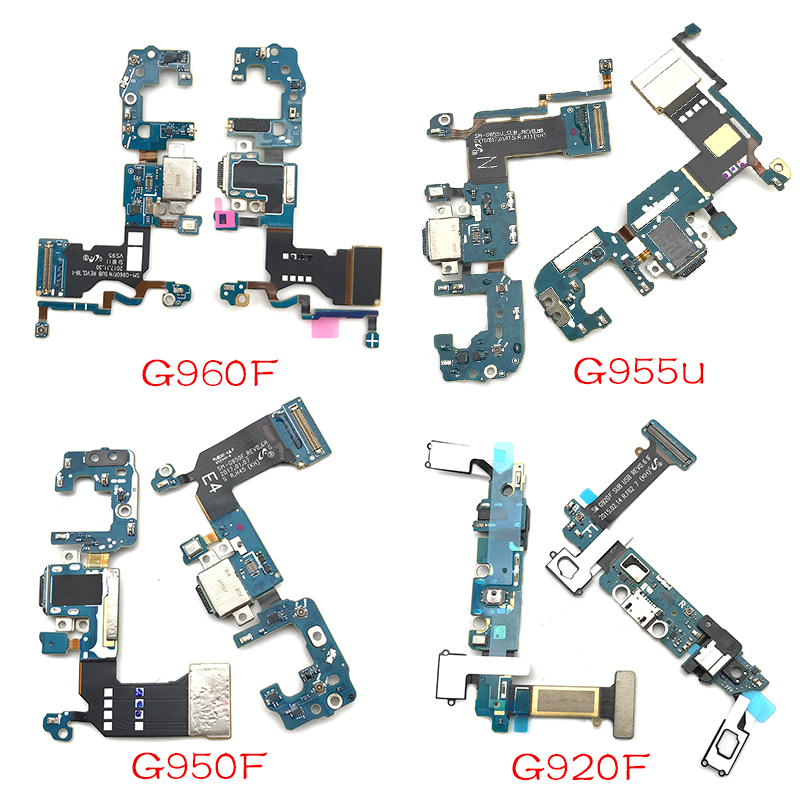 For Samsung S6 S7 Edge S8 S9 Plus G920F G925F G930F G935F G950F G950U G960F USB Charger Dock Connector Charging Port  Flex Cable