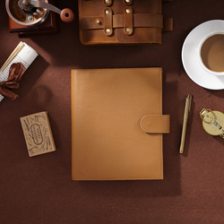 Nieuwkomers Ringen Notebook A5 Size Agenda Organisator Koeienhuid Dagboek Journal Sketchbook Planner Business Kantoor School Briefpapier