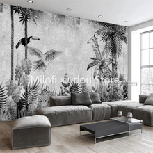3D Wallpaper Background-Wall Bedroom Custom Living-Room Milofi Mural Rainforest Plant