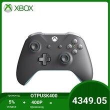 Беспроводной геймпад для Xbox One Brndd WL CntrllrC Xbox One EN/FR/DE/IT/PL/PT/RU/ES EMEA Hdwr (GREY/GREEN)