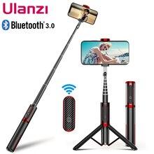 Ulanzi SK 01 สมาร์ทโฟนBluetooth Selfie Stickพร้อมรีโมทคอนโทรลขาตั้งกล้องMonopod UniversalสำหรับiPhone Samsung Huawei XiaoMi
