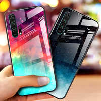 gradient tempered glass case for samsung s20 ultra note 10 s10 plus s10e a51 a71 a30 a50 a30s a50s a40 a70 a20 a20e a10 s a10e