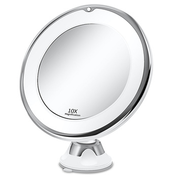 Makeup Vanity Mirror With 10X Lights LED mirror light LED makeup mirror with led light зеркало для макияжа espejo de maquillaje 1