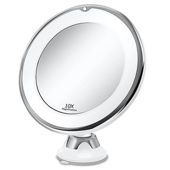 Makeup Vanity Mirror With 10X Lights LED mirror light LED makeup mirror with led light зеркало для макияжа espejo de maquillaje 1