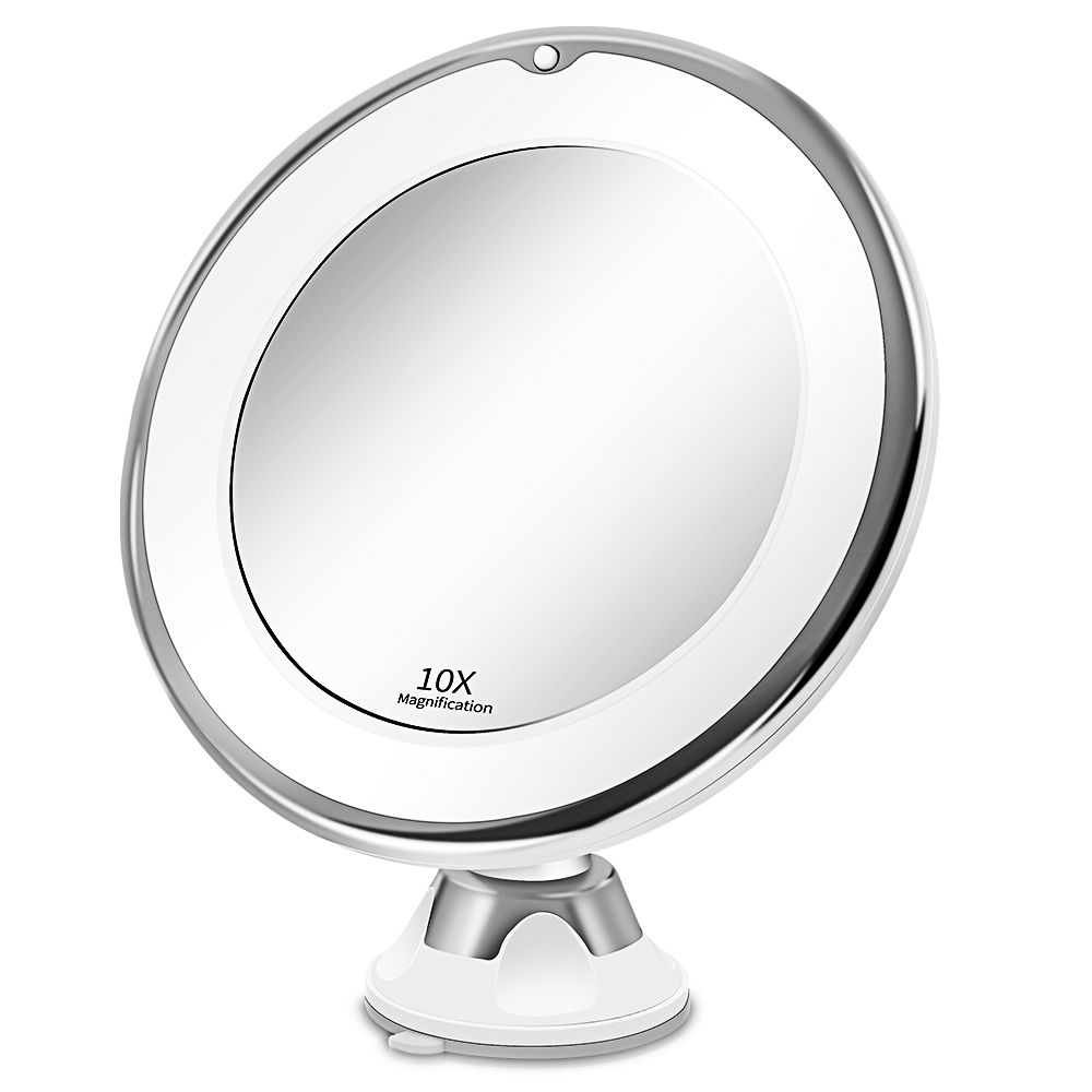 Makeup Vanity Mirror With 10X Lights LED Mirror Light LED Makeup Mirror With Led Light зеркало для макияжа Espejo De Maquillaje
