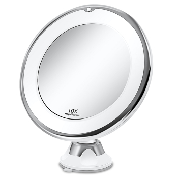 10x LED Makeup Mirror