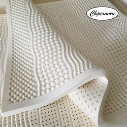 Chpermore 100% Natural latex Tatami Mattress Toppers Foldable single Mattresses For Family Bedspreads King Queen Twin Full Size