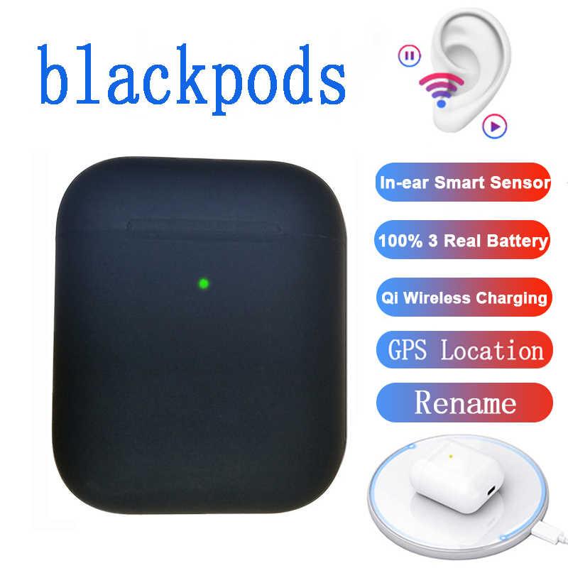 جديد blackpods i800 سماعة لاسلكية تعمل بالبلوتوث سماعة الذكية اللمس سوبر باس ياربود مع تشى صندوق شحن و mic آيفون أندرويد