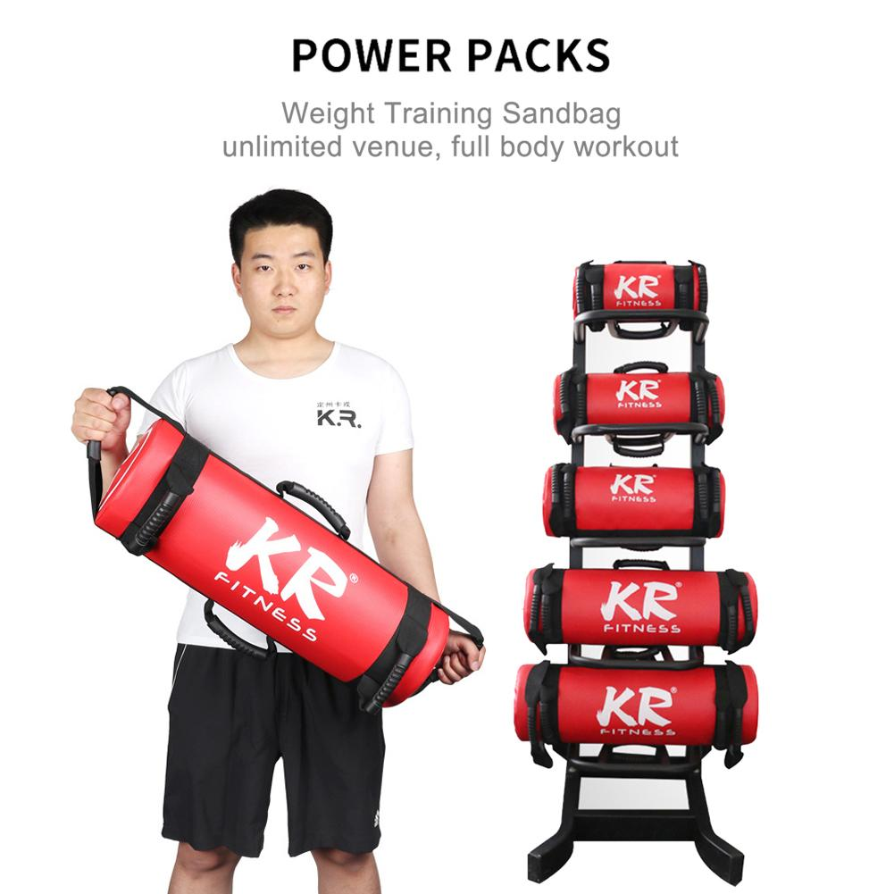 10kg//15kg//20kg Filled Weight Sand Power Bag Strength Training Fitness Crossfit R