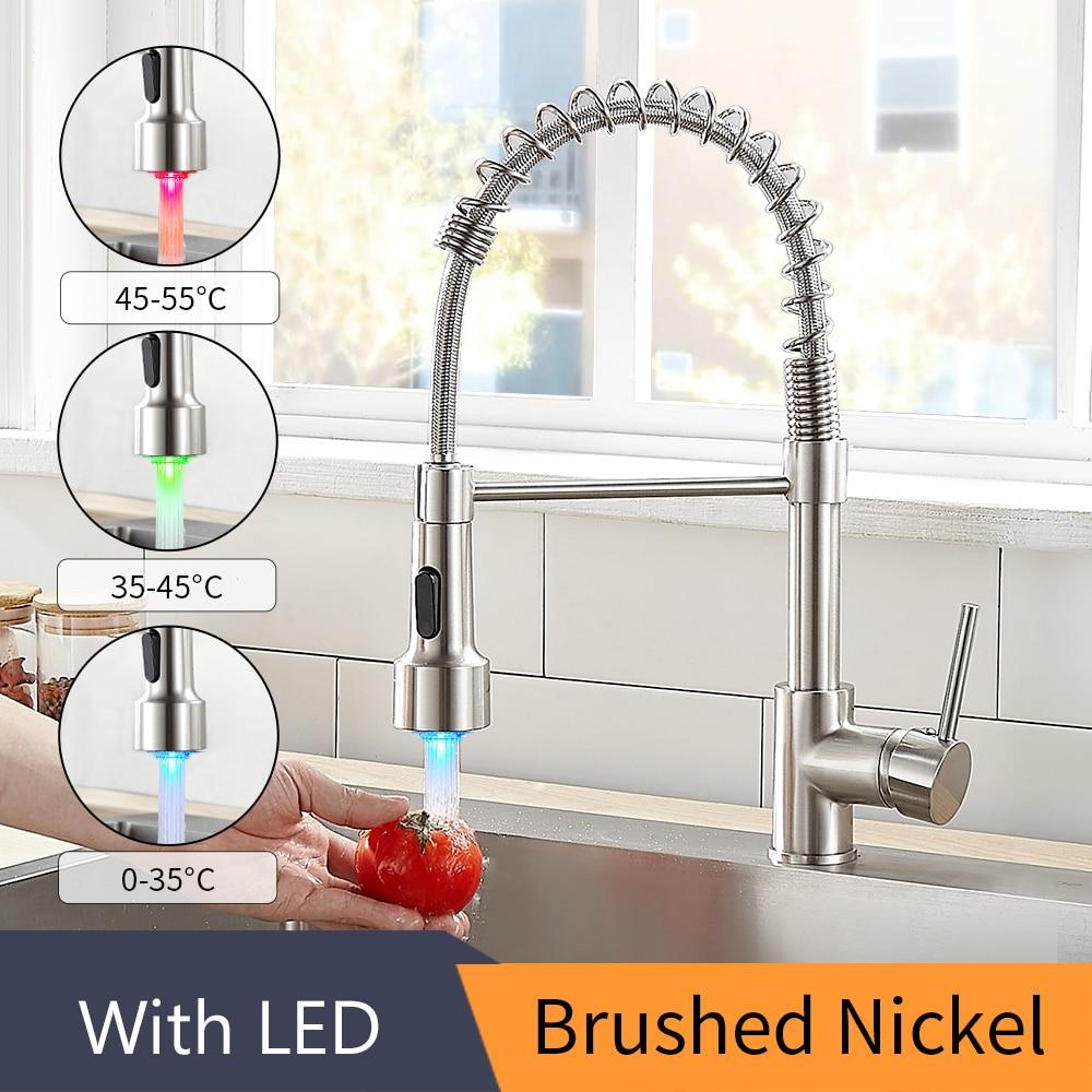 With LED Brushed