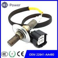 전면 산소 센서 O2 람다 OEM 22641-AA480 22641AA480 Subaru Forester/Impreza 2.0L 공기 연료 비율 22641-AA381 22641AA381
