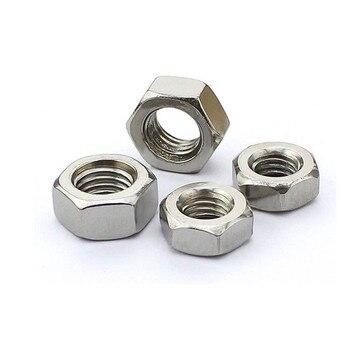 M3/M4/M5/M6/M8-M16 Tuerca hexagonal Tuercas hexagonales Ecrou Tuercas rosca métrica tapones de tornillos...