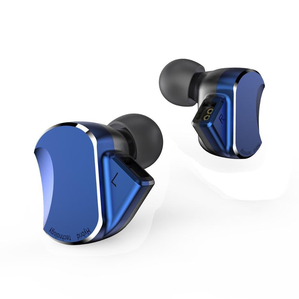 BQEYZ BQ3 3BA + 2DD Híbrido Em fones de Ouvido Fones De Ouvido Fone de Ouvido de ALTA FIDELIDADE de Graves DJ Monito Execução Esporte Earbud Fone de Ouvido fone de Ouvido Earplug fone de ouvido com Microfone